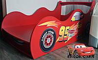 Хит продаж! Лучшая кровать машина ТАЧКИ МОЛНИЯ МАКВИН - только для Вас на http://кровать-машина.com.ua/, нарисована с любовью!