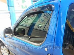 Дефлекторы двери (ветровики) Citroen Berlingo до 2007 года