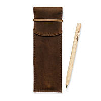 Чехол для ручек BlankNote 1.0 Орех (+эко-ручка и карандаш)