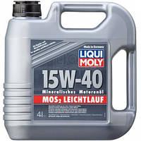 Моторное масло Liqui Moly МoS2 Leichtlauf 15W-40, 4л.