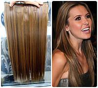 Волосы ТЕРМО на заколках тресс прядь  60см #27Н4
