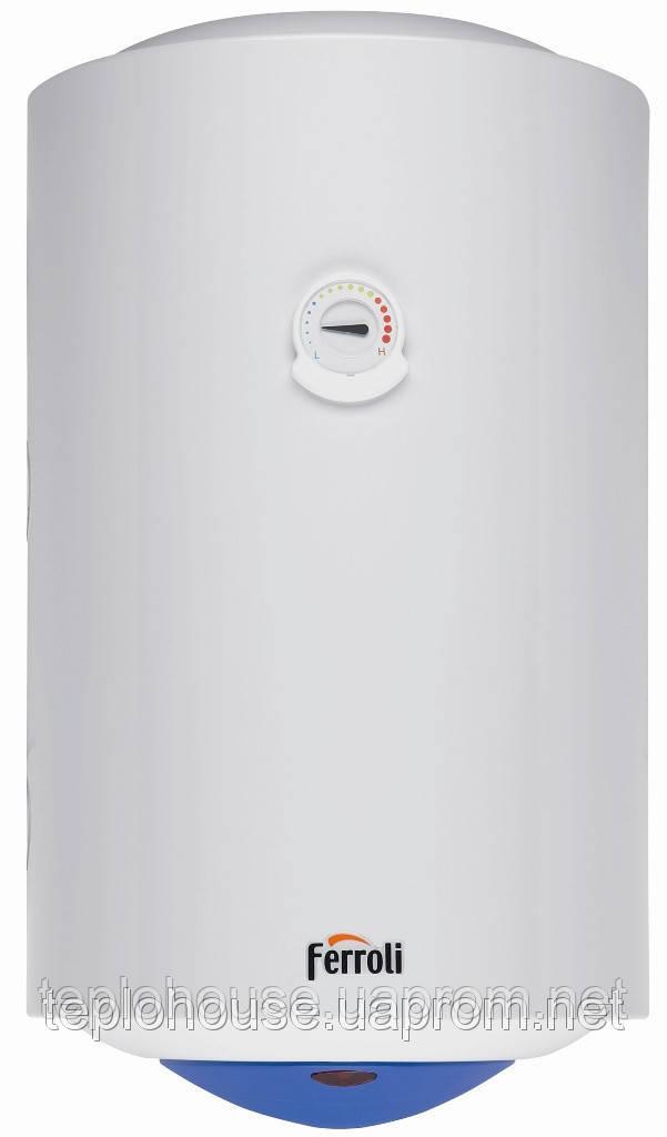 Электрический накопительный водонагреватель FERROLI Calypso 50 л - Тепло Хаус Украина (Системы отопления и водоснабжения) в Киеве