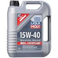 Моторное масло Liqui Moly МoS2 Leichtlauf 15W-40, 5л.