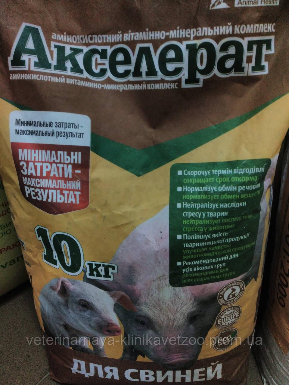 Акселерат(витамино-минеральный  комплекс для свиней )10кг