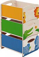 """Ящики для игрушек """"Зоопарк"""" (Код: HABA  7634)"""