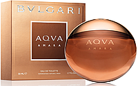 Bvlgari AQUA Amara Men EDT 50 ml туалетная вода мужская (оригинал подлинник  Италия)