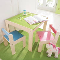 """Детский игровой столик и стулья """"Точечки"""" (комплект) (Код: HABA  8478)"""