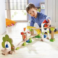"Деревянный детский кегельбан ""Мельница"" Rollerby (Код: HABA  300438)"