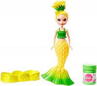 Русалочка Барби Сказочные пузыри из Дримтопии (желтая), Barbie