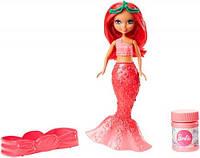 Русалочка Барби Сказочные пузыри из Дримтопии (красная), Barbie