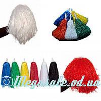 Помпоны для черлидинга/помпоны для болельщиков (кульки для болельщиков), 5 цветов: 2 помпона в комплекте