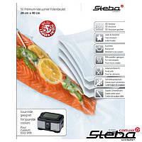 Пакеты к аппарату для упаковки STEBA 28*40см