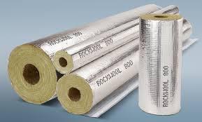 Цилиндры ROCKWOOL 800 от 21 до 508 диаметра, роквул