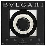 Bvlgari Black TESTER edt 75ml туалетная вода мужская тестер (оригинал подлинник  Италия), фото 2