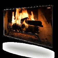 Цветная керамическая электропанель DIMOL Maxi 05 (с рисунком) 500 Вт. 100х50х1.2 см.