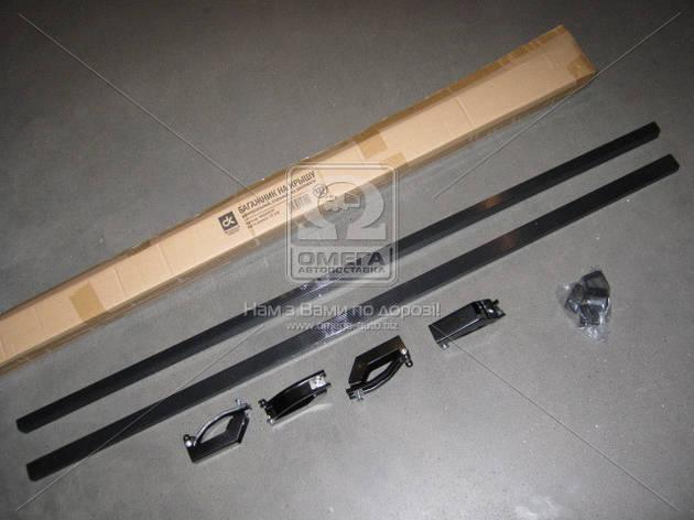 Универсальный авто багажник стальной, 127см., на рейлинги, Дорожная Карта                      , фото 2