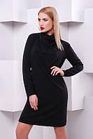Женское   черное платье   Iren   FashionUp 42-48  размеры