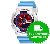 Спортивные часы Casio G-Shock ga-110 Azure White