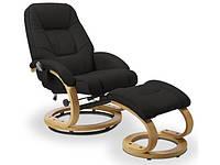 Кожаное кресло Halmar Matador черный