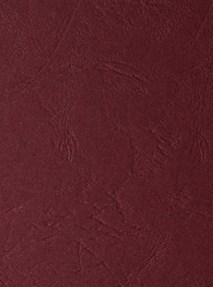 Дизайнерский картон Palissandre c тиснением кожа, бордовый, 300 гр/м2