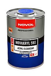 NOVOL Бесцветный акриловый лак Novakryl HS 580 2+1 (1,0л + 0,5л отв.)