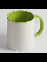 Чашка для сублимации цветная внутри