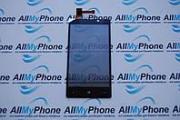 Сенсорный экран для мобильного телефона Nokia Lumia 820 черный