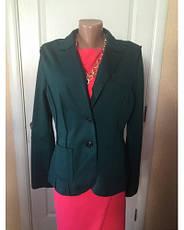 Піджак жіночий приталений чорний зелений довгий рукав весна-літо-осінь S. Oliver, фото 3