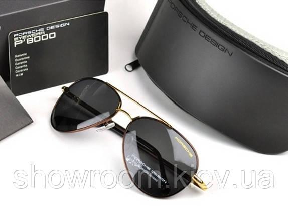 Солнцезащитные очки в стиле Porsche Design c поляризацией (p-8510 copper) d6c6dcadeec