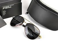 Солнцезащитные очки в стиле Porsche Design c поляризацией (p-8510 copper)