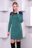 Женское зеленое   платье  Melissa  FashionUp 42-48  размеры