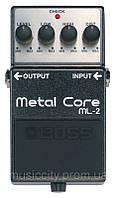 Boss ML2 педаль для гитары, эффект - Metal Core