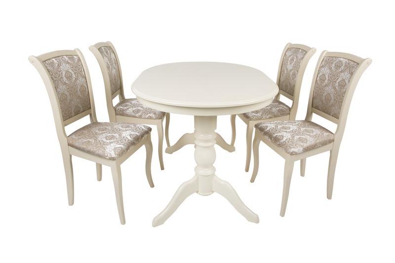 Овальный стол на кухню   Флора stk