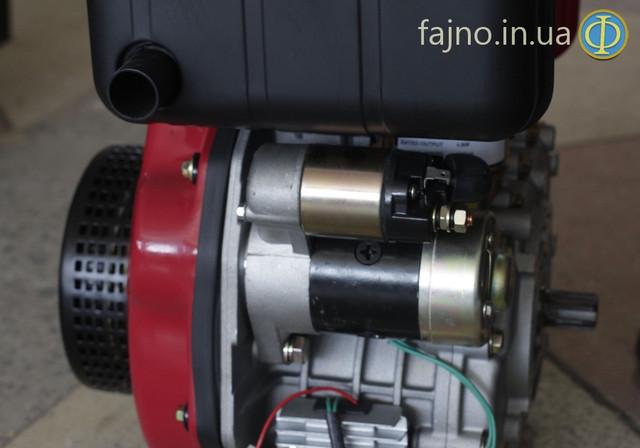 Дизельный двигатель Weima WM 178FE с электростартером фото 1