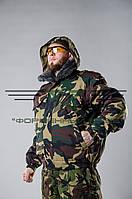 Куртка камуфляж зеленый НАТО
