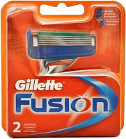 Картриджи Gillette Fusion 2's (два картриджа в упаковке), фото 1