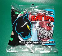Багира от крыс парафинированные брикеты 200 г