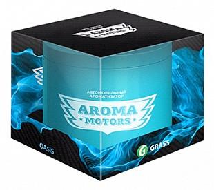 Ароматизатор гелевый «Aroma Motors» OASIS в блистерной упаковке (круглый), 100мл