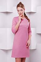 Сиреневое женское  платье  Kamila  FashionUp 42-48  размеры