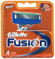 Кассеты серии Gillette Fusion 4's (четыре картриджа в упаковке)