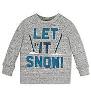 Кофта на мальчика Let it snow! на мальчика  5 и 6 лет C&A Германия Размер 110 и 116 116