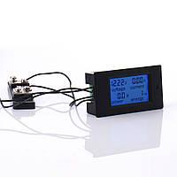 Цифровой вольтметр амперметр DC 100В 100А с шунтом (PZEM-051)