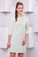 Светло-салатовое женское  платье  Kamila  FashionUp 42-48  размеры