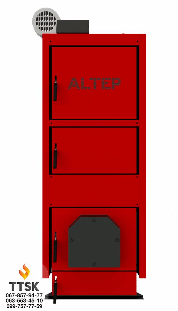Котёл на твёрдом топливе KT-2E-U 27 кВт