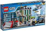 Лего Lego City Ограбление на бульдозере 60140