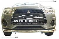 Кенгурятник для Mitsubishi ASX одинарный