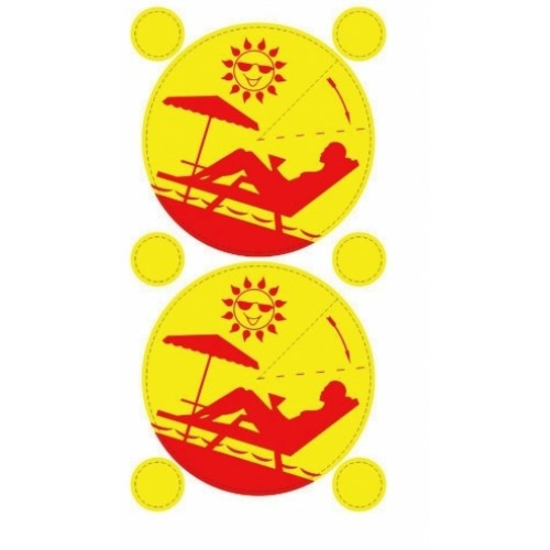 Стикини для солярия (100шт/уп)