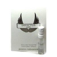 Paco Rabanne Invictus Aqua Man - Туалетная вода (Оригинал) 1,5ml (пробник)