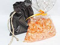 Морская соль с маслом апельсина в мешочке
