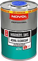 NOVOL Бесцветный акриловый лак NOVAKRYL XMS 2+1 (1,0л + 0,5л отв.)